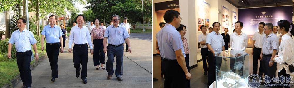 自治区党委常委、统战部部长徐绍川到腾博会官方网站调研